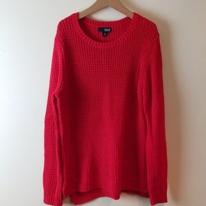 A.N.A. red sweater Jcp womens mediium
